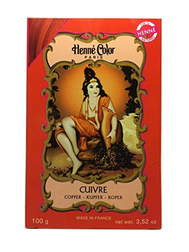 Henné Color Copper (Kupfer) Henna-Pulver