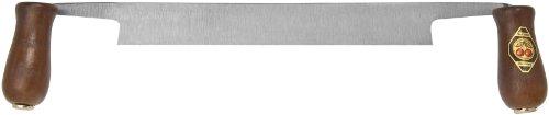 Kirschen 4000-250 Zugmesser, gerade, mit 2 Holzheften 250 mm