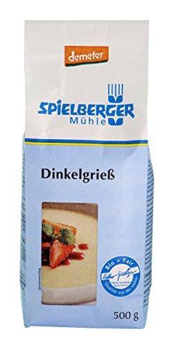 Spielberger Bio Dinkelgrieß, demeter (1 x 500 gr)