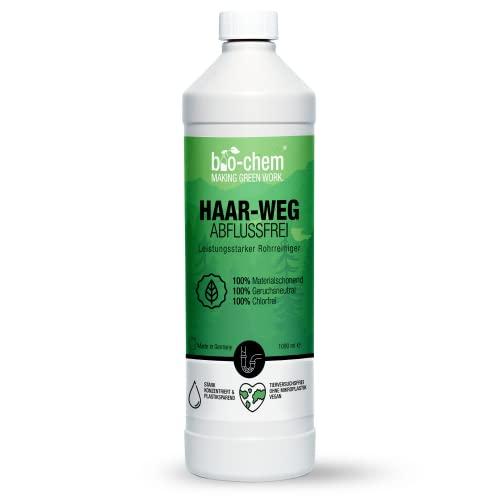 bio-chem Haar-weg Abfluss-Frei 1000 ml Abflussreiniger Rohrreiniger chlorfrei