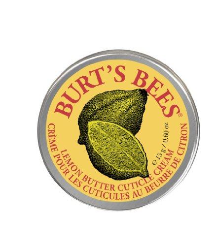 Burt\'s Bees 100 Prozent Natürliche Zitronenbutter Nagelhautcreme, 15 g Tiegel
