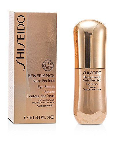 Shiseido Benefiance Nutri Perfect Serum, femme/woman, Anti-Age Eye Contour Treatment, 1er Pack (1 x 15 ml)