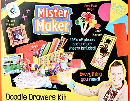 Mister Maker Doodle Drawers Schubladen-Bastel-Set, englische Version