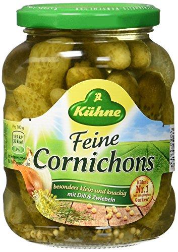 Kühne Feine Cornichons Kräuter, 190 g
