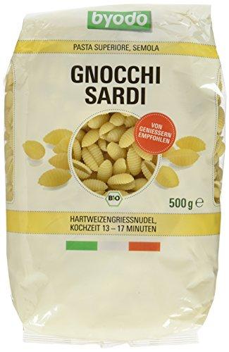 Byodo Gnocchi sardi, 6er Pack (6 x 500 g Packung) - Bio