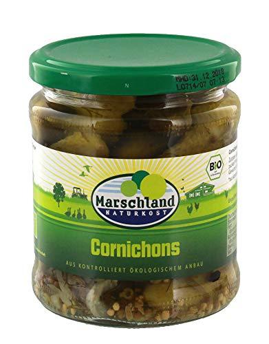 Marschland Cornichons im Glas (370 ml) - Bio