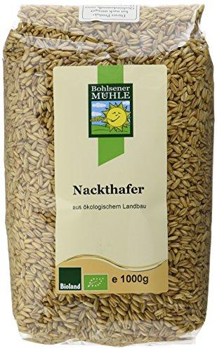 Bohlsener Mühle Nackthafer, 6er Pack (6 x 1000 g ) - Bio