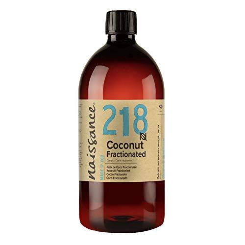 Naissance Kokosöl fraktioniert (Nr. 218) 1 Liter (1000ml) 100{6bb0c9c34de9485c6a135f088c66ef2a7438e1921484a40bc91e674b36fc7735} rein