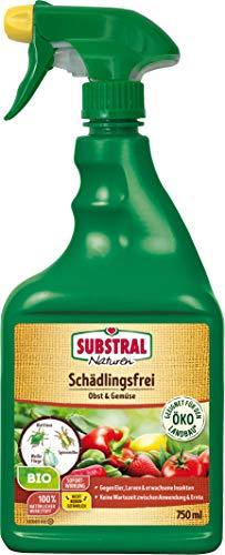 Naturen Bio Schädlingsfrei Obst- & Gemüse, Natürliches Mittel gegen Schädlinge an Pflanzen, 750 ml Flasche