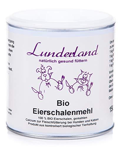 Lunderland-Bio-Eierschalenmehl, 150g