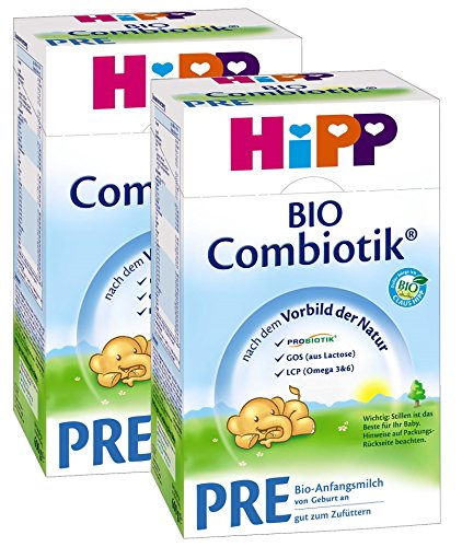 Hipp PRE BIO Combiotik , 2er Pack (2 x 600 g) - Bio
