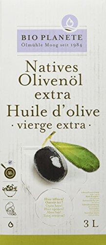 Bio Planète Bio Olivenöl nativ extra 3 L in der Box aus kontrolliert biologischem Anbau