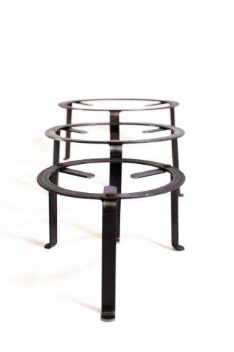 andere Hersteller Dreibein Ständer 40cm, Schmiedeeisen