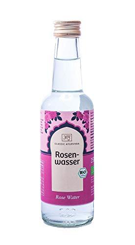 Classic Ayurveda Rosenwasser, 1er Pack (1 x 250 ml) - Bio