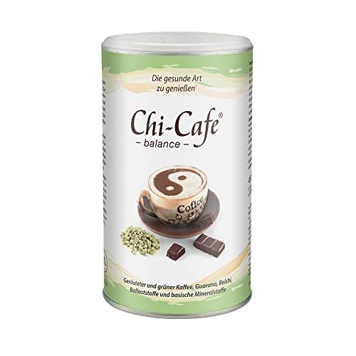 Chi-Cafe balance 450 g Dose 90 Tassen I veganer, löslicher Kaffee mit wertvollen Ballaststoffen I Kaffee, Guarana, Calcium, Magnesium I gute Verträglichkeit, für Energie, Nerven, Verdauung