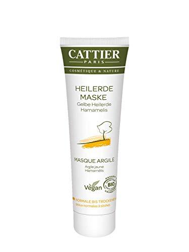 Cattier Gelbe Heilerde Maske für trockene Haut, 100 ml