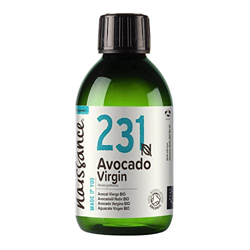 Naissance Avocadoöl, nativ 250ml BIO zertifiziert 100{4b249000e11ab35b9271e63912177470d3752aa6a784cf7d0947627292d9a70a} rein
