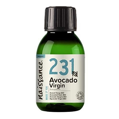 Naissance Avocadoöl, nativ 100ml BIO zertifiziert 100{6a3e8209fe131d445fb7ba3016a470ea3ad8ed81ee8bd7fc840a2865f2731f9a} rein