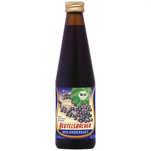 Beutelsbacher Bio Holundersaft aus Wildfrüchten (1 x 330 ml)