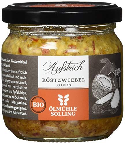 Ölmühle Solling  Bio Aufstrich Röstzwiebel-Kokos, 1er Pack (1 x 150 g)