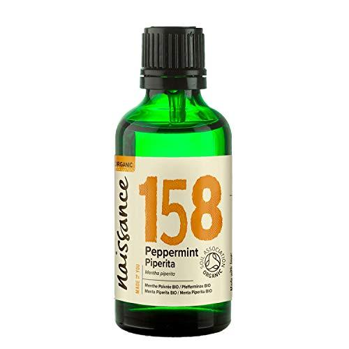 Naissance Pfefferminzöl 50ml BIO zertifiziert 100{d98eae2ae1d2df7bc8078670d2392be2d12d86baca54237cb70e585b851fe957} naturreines ätherisches Öl