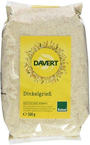 Davert Dinkelgries, 1er Pack (1 x 500 g) - Bio