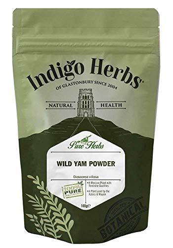 Indigo Herbs Wilde Yamswurzel Pulver 100g