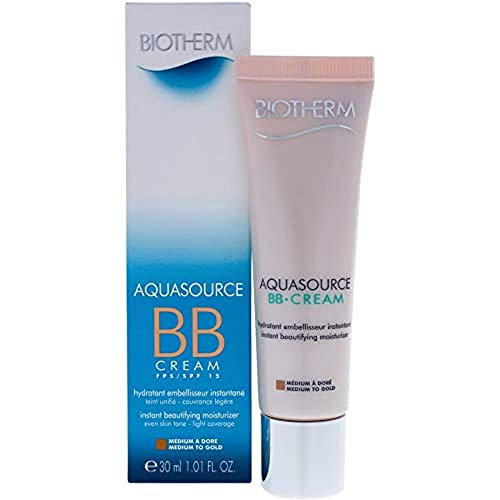 Biotherm Aquasource femme/wommen, BB Cream Medium to Gold, 1er Pack (1 x 30 g)