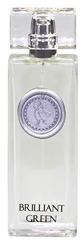 Greendoor Eau de Parfum EdP Brilliant Green, vegan, Bio Alkohol, frisches Damen Natur Parfüm aus der Manufaktur 50ml, Naturkosmetik, natürliches Geburtstags-Geschenk Geschenke Ostern