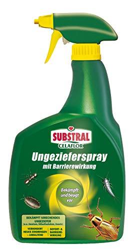 Celaflor Ungezieferspray mit Barrierewirkung, Pumpspray zur gezielten Bekämpfung von krichendem Ungeziefer mit Sofort- & Langzeitwirkung - 800ml Sprühflasche