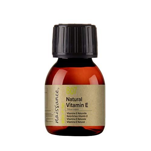 Naissance Natürliches Vitamin E Öl (Nr. 807) 60ml 100{98b53eaf17bf281e87b58514e812c1fd5ad7fd5761162cfa37f40c0f9ea06af0} natürlich