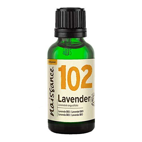 Naissance Lavendelöl 30ml BIO zertifiziert 100{eff15164cef93e4f07fd8e89888917922f9b95533b003c5002ee901180047618} naturreines ätherisches Öl