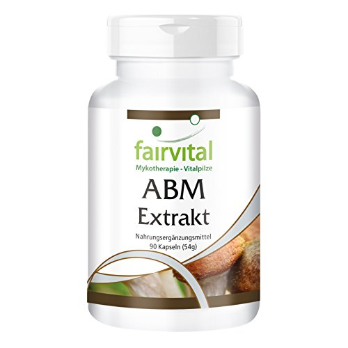 Agaricus Extrakt Kapseln 500mg - Agaricus Blazei Murill - VEGAN - 90 Kapseln - standardisiert auf 45{ba79d34eb3f6fe21bbe73ff96eb36ff8fee03dd99f18557b00bc064a8fe8887f} Polysaccharide
