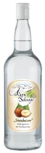 "Alpenschnaps \""Steinbeisser\"" Haselnuss 1 Liter 33{fe1cc6b99032ea1e42c73936c7ab09a7e4f0586a14db8fa3790825398852a985}"