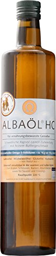 Alba - Albaöl Healthcare Rapsöl mit Buttergeschmack (750 ml)