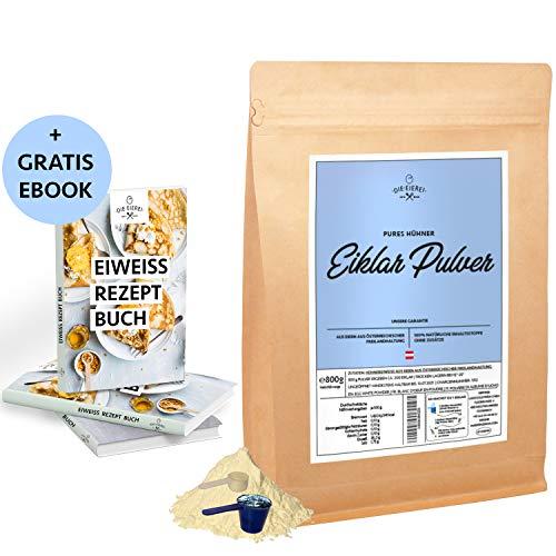 EIEREI Eiklar-Reines-Eiweiss-Protein-Pulver Österreichische Freiland Eier 800g