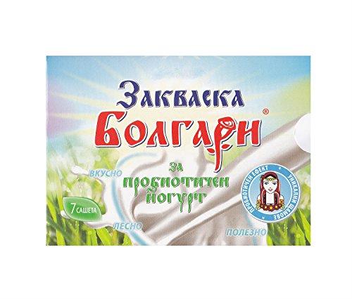 """Joghurtferment\""""BOLGARI\"""" - 7 Beutel gefriergetrocknete Starterkulturen für Joghurt mit Lactobacillus rhamnosus"""