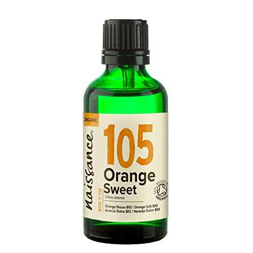 Naissance Orangenöl, süß 50ml BIO zertifiziert 100{6e0e9ebf551f523bce80ad9b319d0a425eae17464ea9da7892e5764238545a9a} naturreines ätherisches Öl