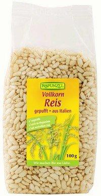 Rapunzel Vollkorn Reis, gepufft - 4er Pack (4 x 100g) - Bio