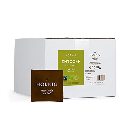 J. Hornig Entcoff(einiert) - 150 ESE Pads Bio / Fairtrade / Espresso Pods / Cialde, 1050 g