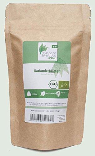 SENA-Herbal Bio - geschnittene Korianderblätter- (1kg)