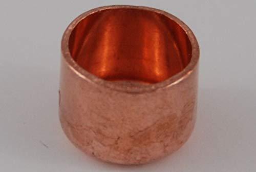 Kappe 15 mm / 5301 (VE 5 Stk) Kupfer Fitting Lötfitting CU, 5 Stück, copper fitting, zum Löten, Rohrverbinder
