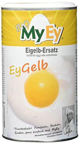 MyEy EyGelb, BIO Eigelb-Ersatz, vegan, sojafrei, cholesterinfrei, 1 Pack (1 x 200 g)
