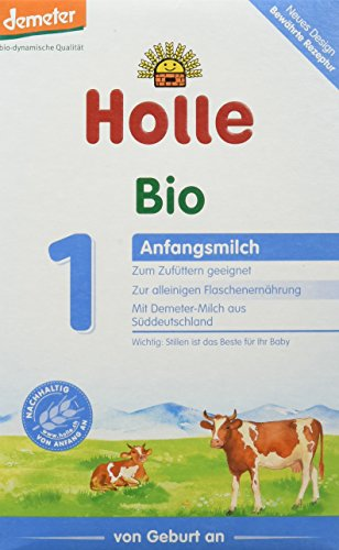 Holle Bio Anfangsmilch 1, 6er Pack (6 x 400g)