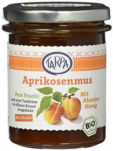 Tarpa Bio Aprikosenmus mit Akazienhonig, 3er Pack (3 x 210 g)