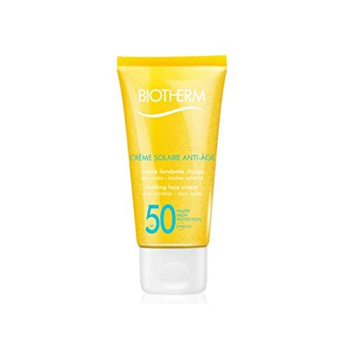 Biotherm Creme Solaire Anti-Age SPF50 Melting Face Cream Unisex, Gesichtspflege, 1er Pack (1 x 50 ml)