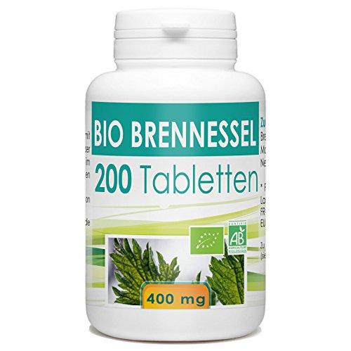 Bio Brennnessel 400mg - 200 Tabletten