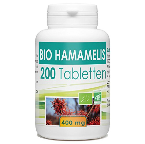 Bio Hamamelis 400mg - 200 Tabletten
