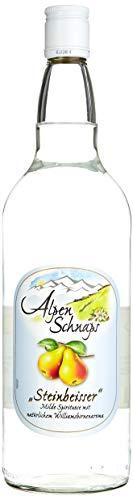 """Alpenschnaps \""""Steinbeisser\"""" Williamsbirne    (3 x 1 l)"""