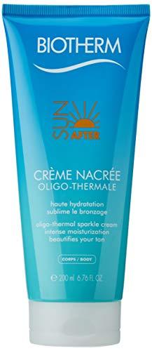 Biotherm Sun After femme/women, Creme Nacree Oligo-thermal sparkle cream, 1er Pack (1 x 200 g)
